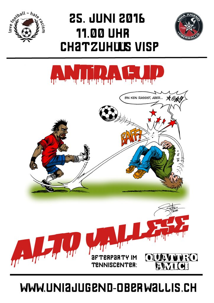 AntiraCup 2016 Flyer